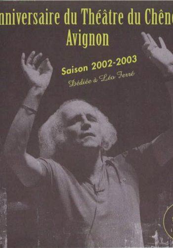 Programme Saison 2002 – 2003