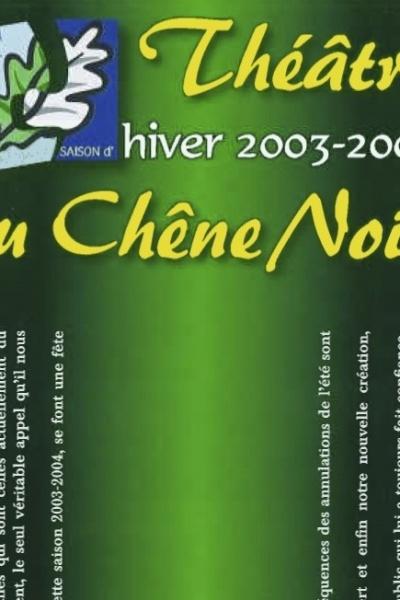 Programme Saison 2003 – 2004