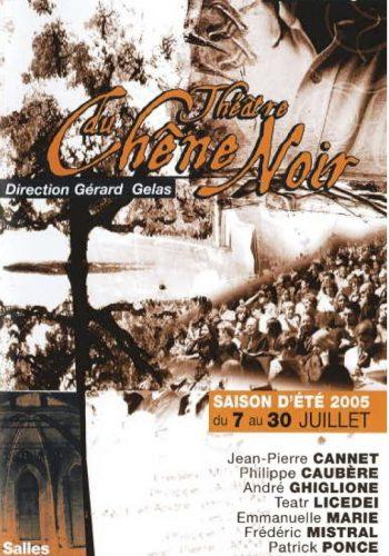 Programme Festival 2005