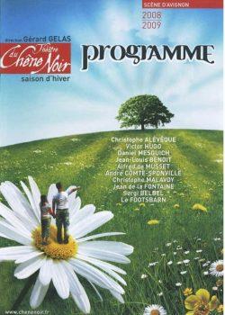 Programme Saison 2008 – 2009