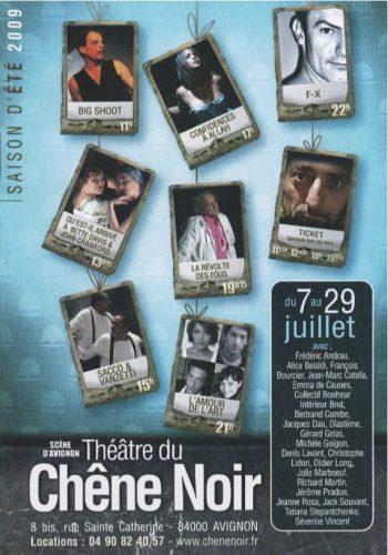 Programme Festival 2009