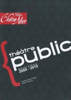 Programme Saison 2009 – 2010
