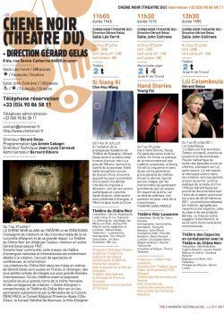 Programme Festival 2011