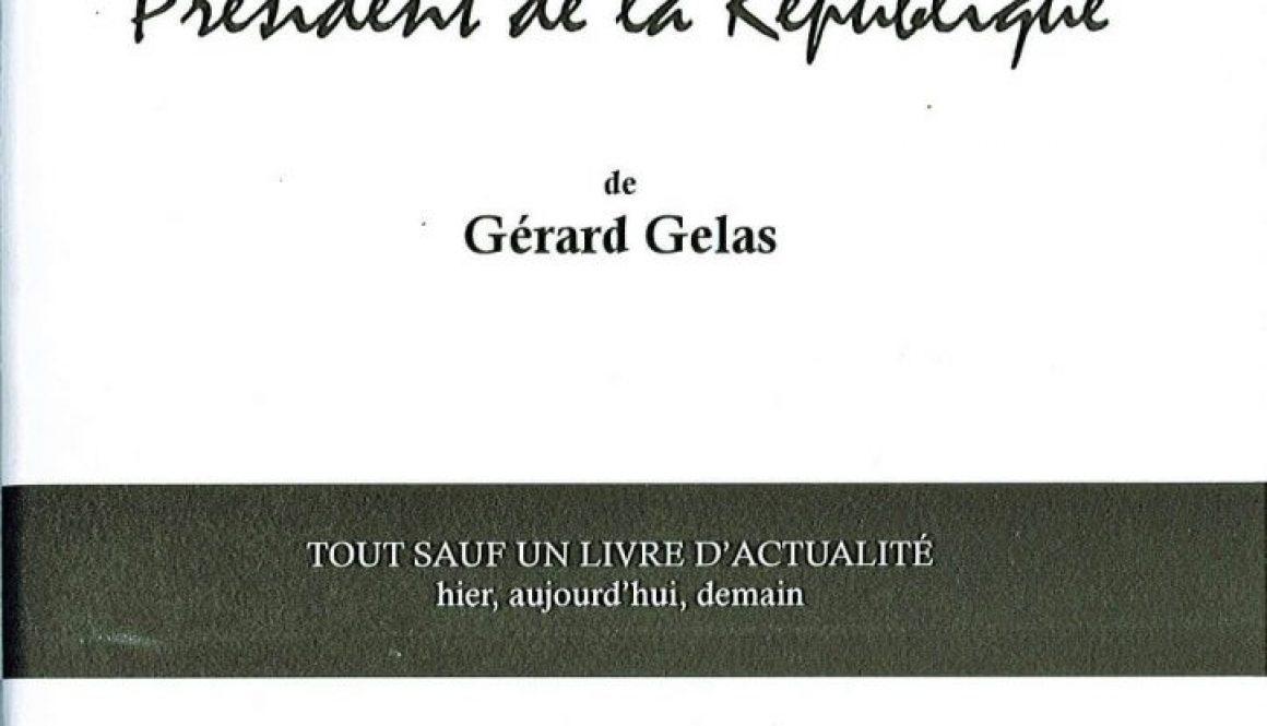 """""""Lettre à Monsieur le futur Président de la République"""" de Gérard Gelas au Théâtre 14 (Paris)"""