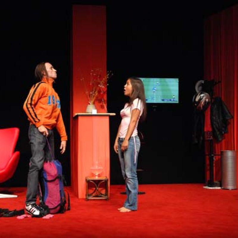RADIO MON AMOUR creation theatre du chêne Noir