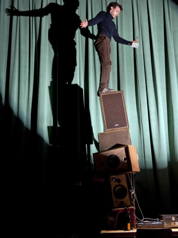 Patinoire au Festival 2014 Théâtre du Chêne Noir
