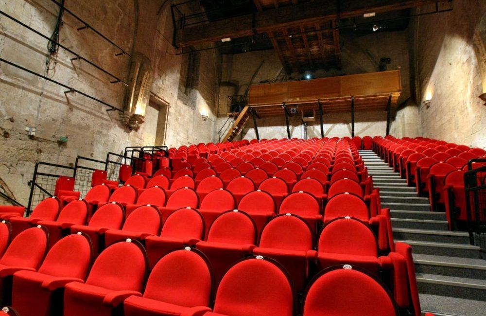 Salle Léo Ferré - Fauteuils