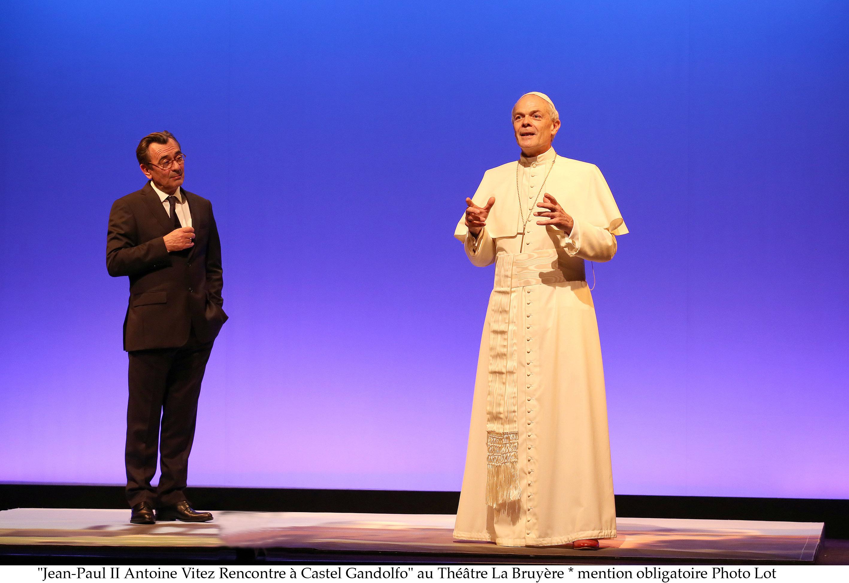 Jean-Paul II – Antoine Vitez, Rencontre à Castel Gandolfo