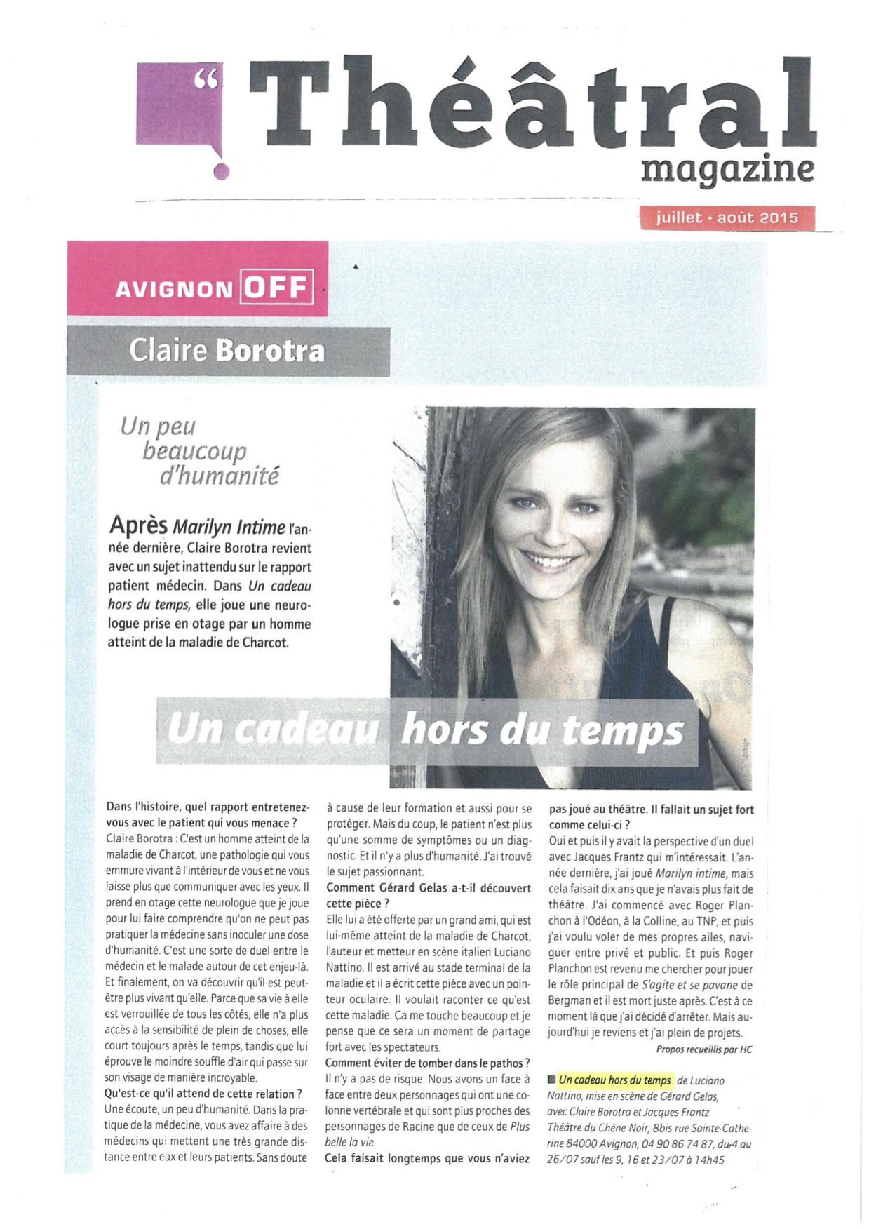 theatral-magazine-un-cadeau-hors-du-temps-revue-de-presse