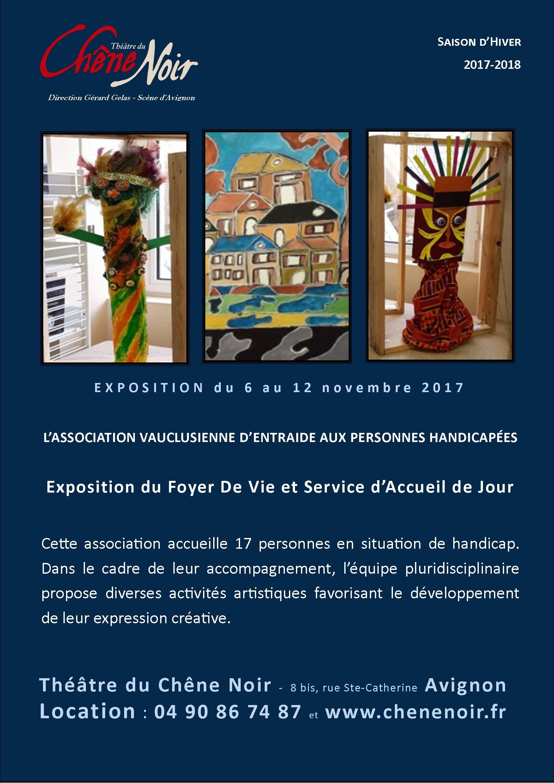 Affiche A3 expo aveph