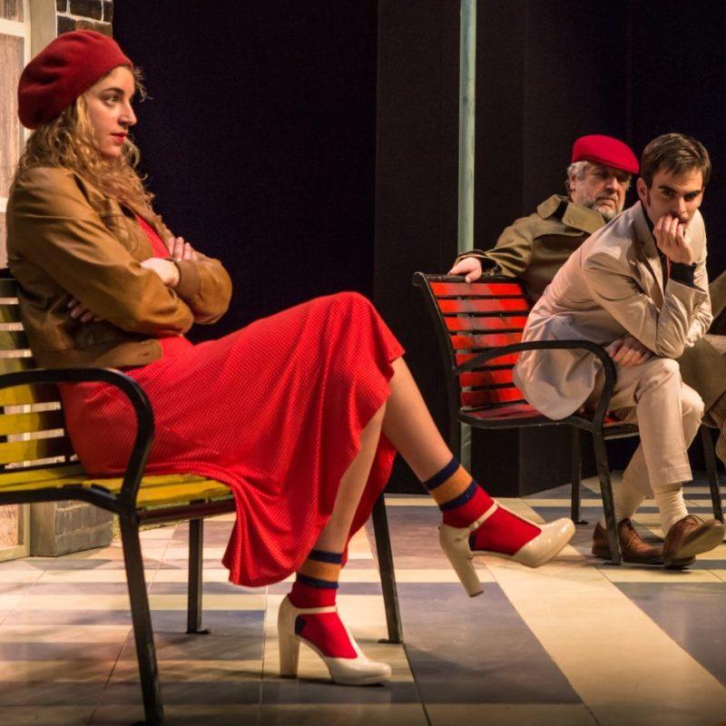comedie sur un quai de gare festival avignon theatre du chene noir 2